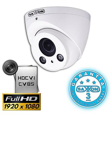 SAXXON PRO DM2710TMV2 - Camara domo HDCVI 1080p