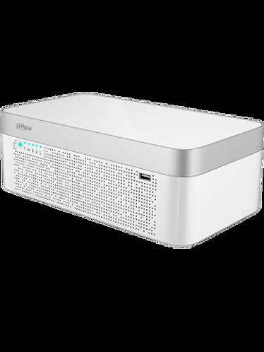 DAHUA XVR7108E4KLBX-DVR 8 CAN 4K / 4 MP /H265+/IOT/INCLUYE BATERÍA/SMART AUDIO