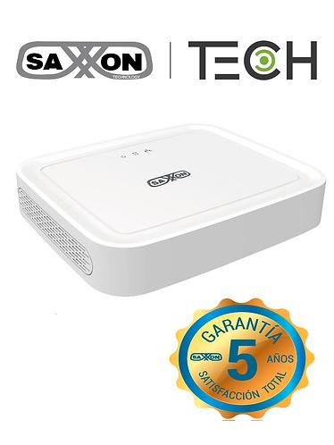 SAXXON TECH Z8308XECSL-DVR 8 CAN 1080P LITE/H264/1 PUERTO SATA DE HASTA 8TB/P2P