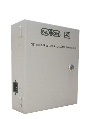 SAXXON PSU1220D16H- Fuente de poder de  16 camaras Ideal para camaras 4K