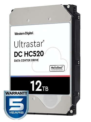 WESTERN HUH721212ALE604 - Disco duro de 12 TB