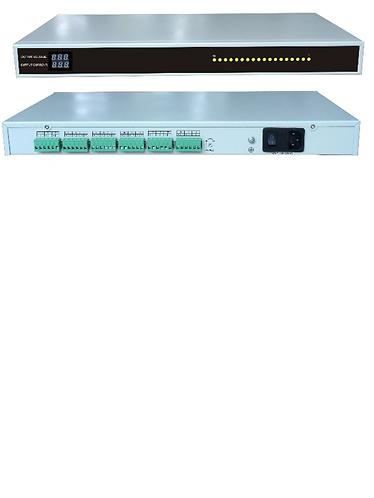 SAXXON PSU1220D18US - Fuente de poder regulada 12V CD 18 canales