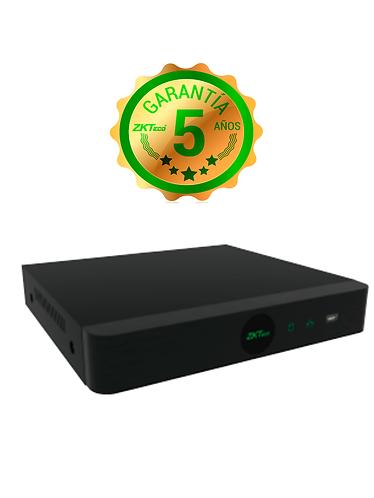 ZKTECO Z8304XES - DVR 4 Canales HDCVI Pentahibrido 1080p Lite