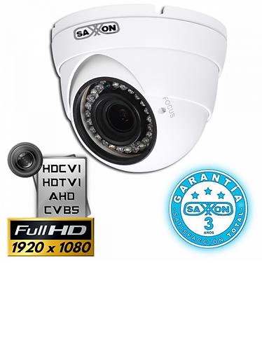 SAXXON PRO DVF2720TM - Camara domo HDCVI 1080p