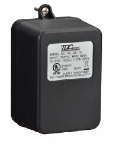 BOSCH I_CX4010 - TRANSFORMADOR DE 18 VAC 22VA 60HZ COMPATIBLE CON PANEL SERE B