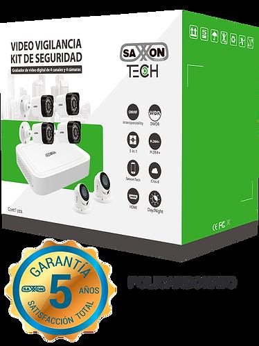 SAXXON TECH 8304XECCLKIT - 2 MP FULL HD