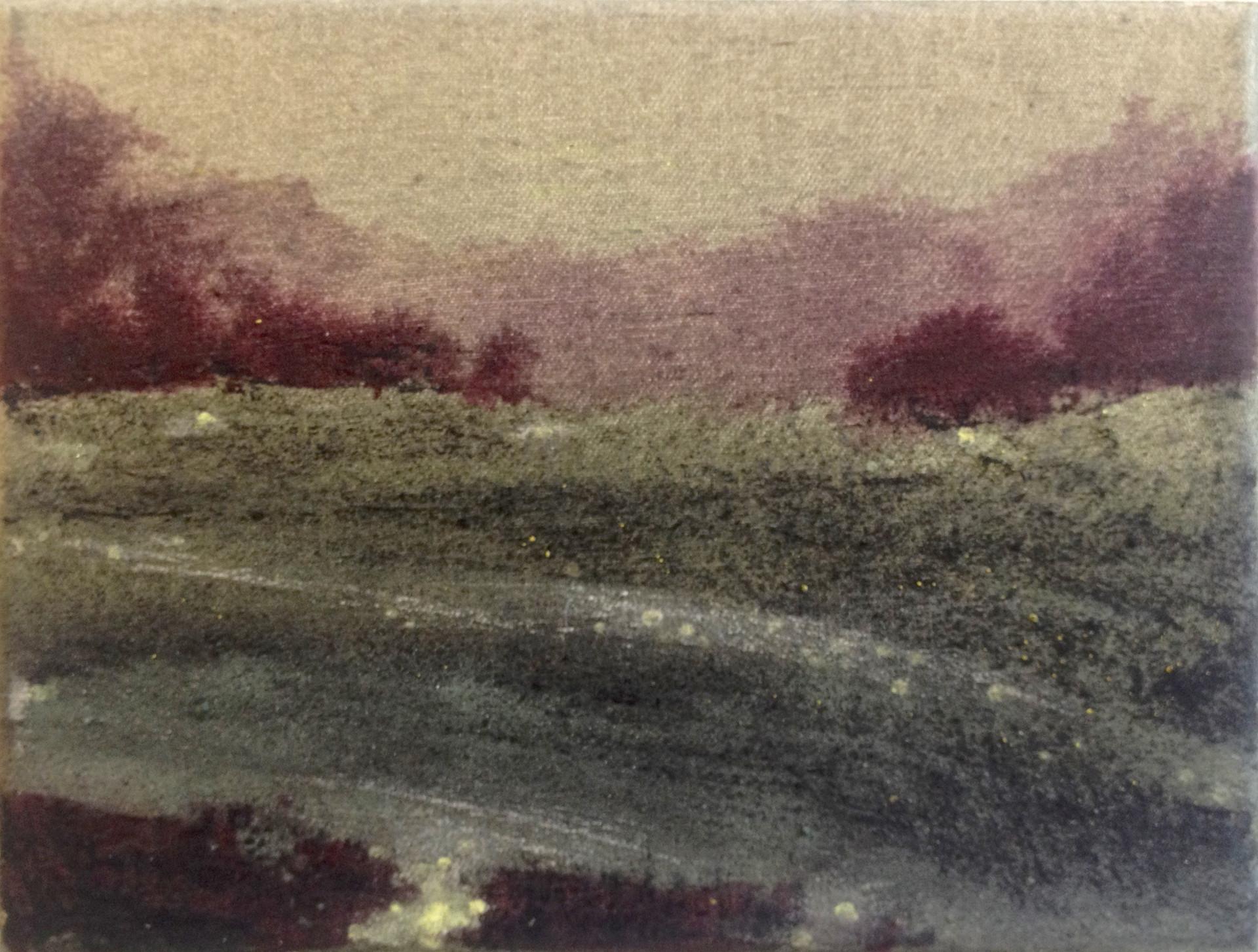 UNTITLED Tempera grassa on canvas 25x30cm (private collection) 2017