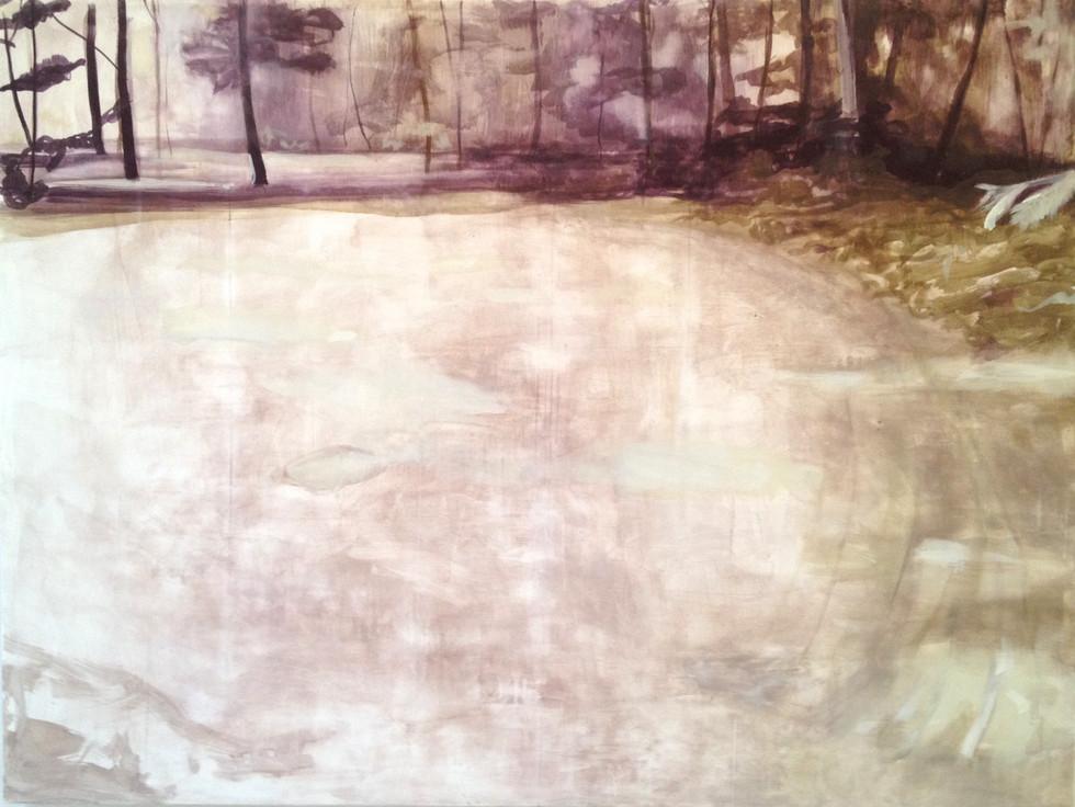 UNTITLED Tempera grassa on canvas 200x150cm (private collection) 2015