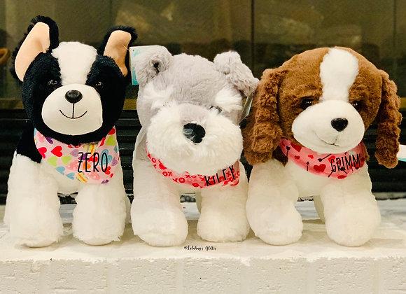 Personalized Stuffed Doggies