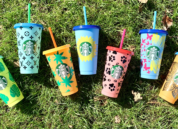 Color Changing Starbucks Cups