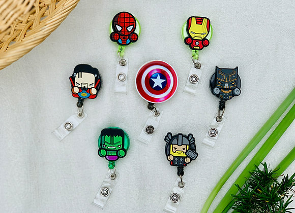 Heroes and Comics Badge Reels
