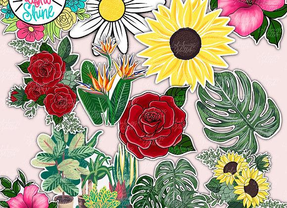 Plants & Flowers Stickers