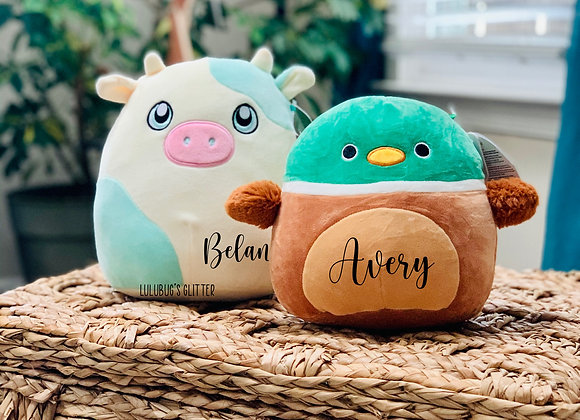 """Personalized Specialty 7.5"""" - 8"""" Squishmallows"""