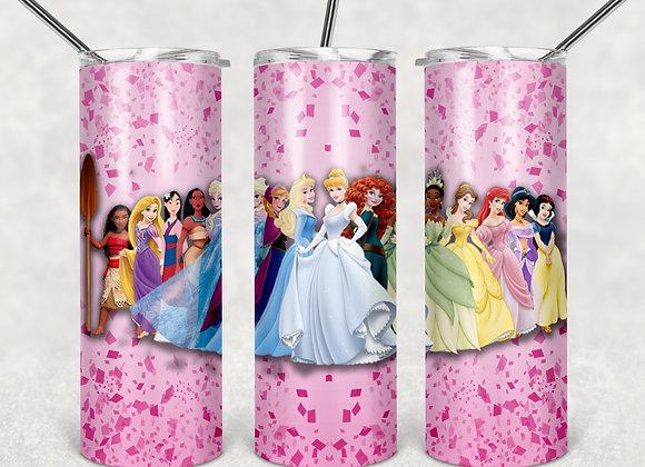 Insulated Tumblers - Princesses
