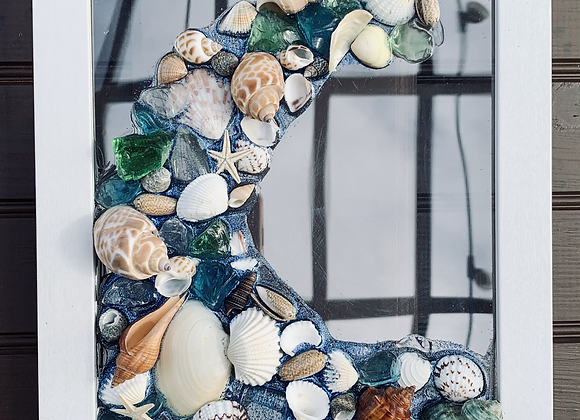 Shell Art Pieces