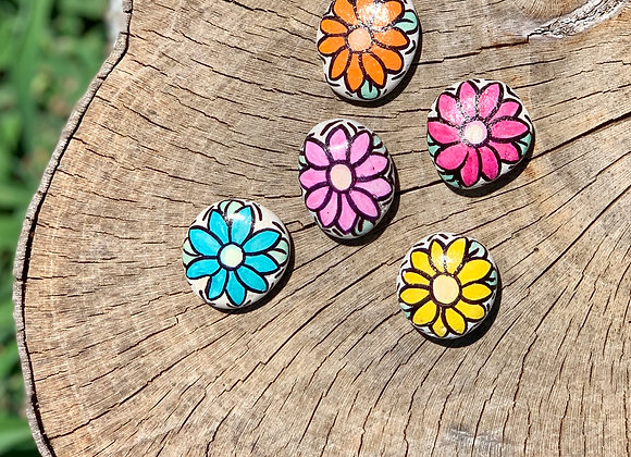 Flower Power Kindness Rocks