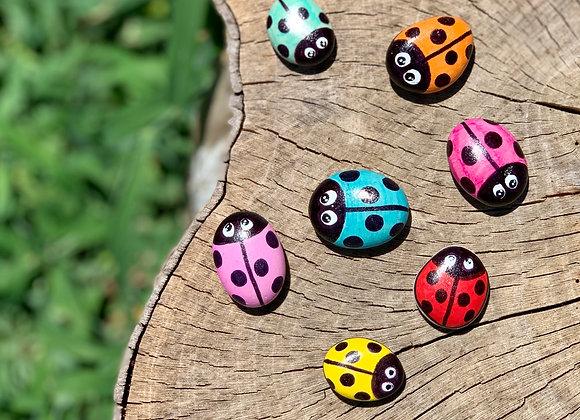 Ladybug Kindness Rocks
