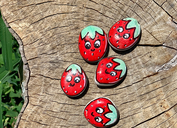 Strawberry Kindness Rocks