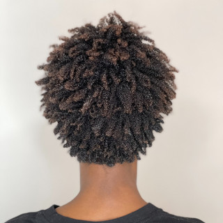 Hydrated Natural Curls & Cut