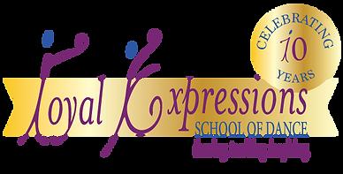 RoyalExpression-10-Anni-Logo-2colors.png