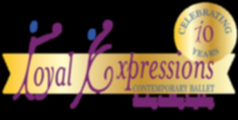 RoyalExpression-Cont-Ballet-10-Anni-Logo