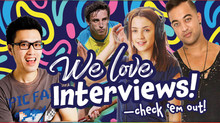 We love interviews