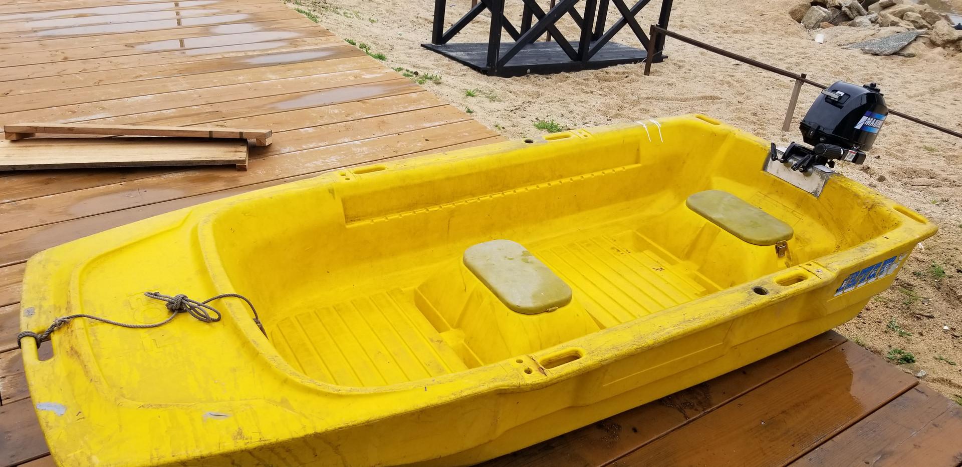 小型3名乗りボート