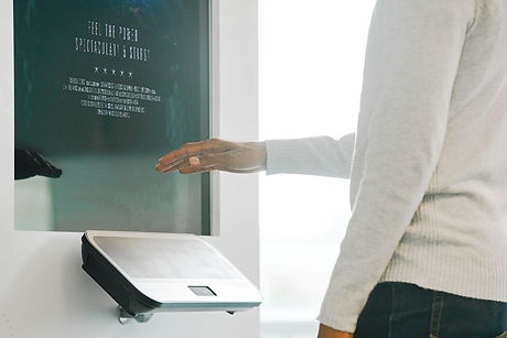 Touchless interfaces - control content and systems with your hand