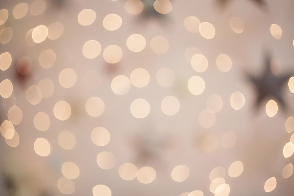 Коледни студийни светлини