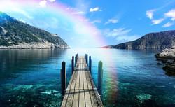 Rainbow overlays photoshop effects