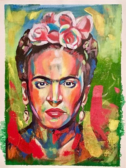 Spontaneous Frida by Valentino Amaya