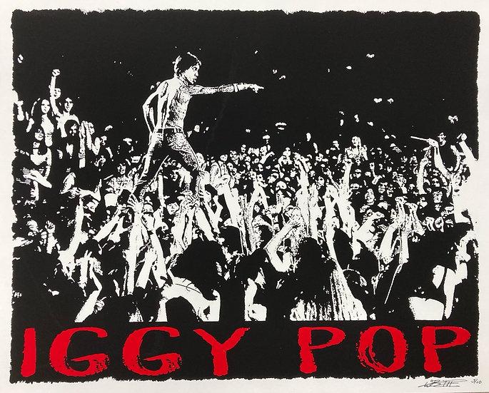 Iggy Pop by William B. Livingston