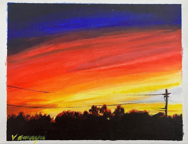 Sunset by Valentino Amaya