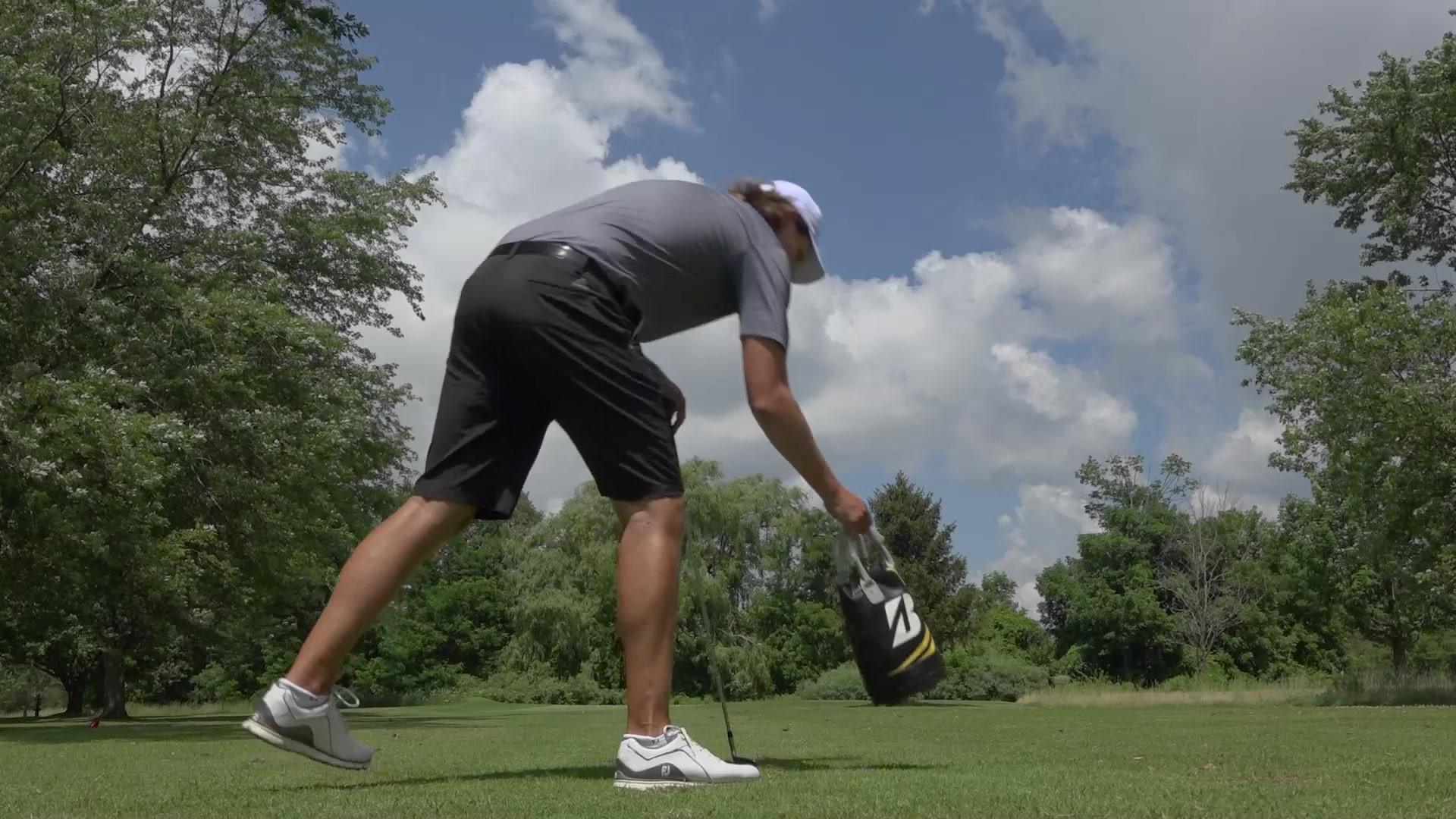 Canadian PGA tour player Michael Blair