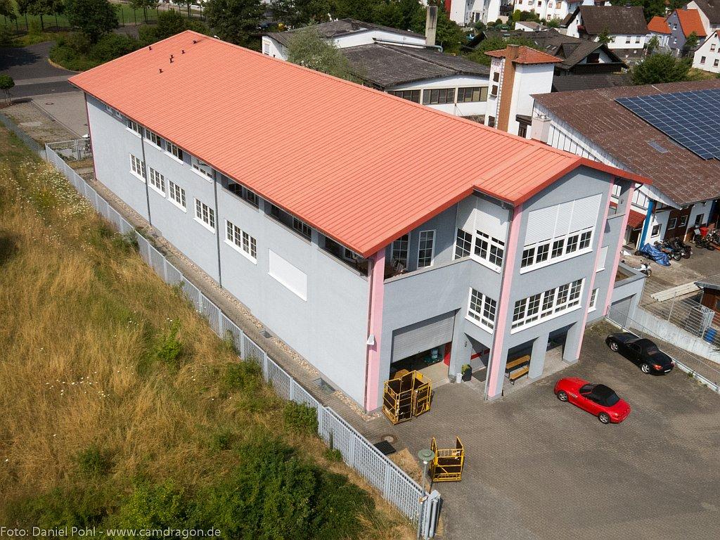 Luftbild-Industriehalle-Aschaffenburg