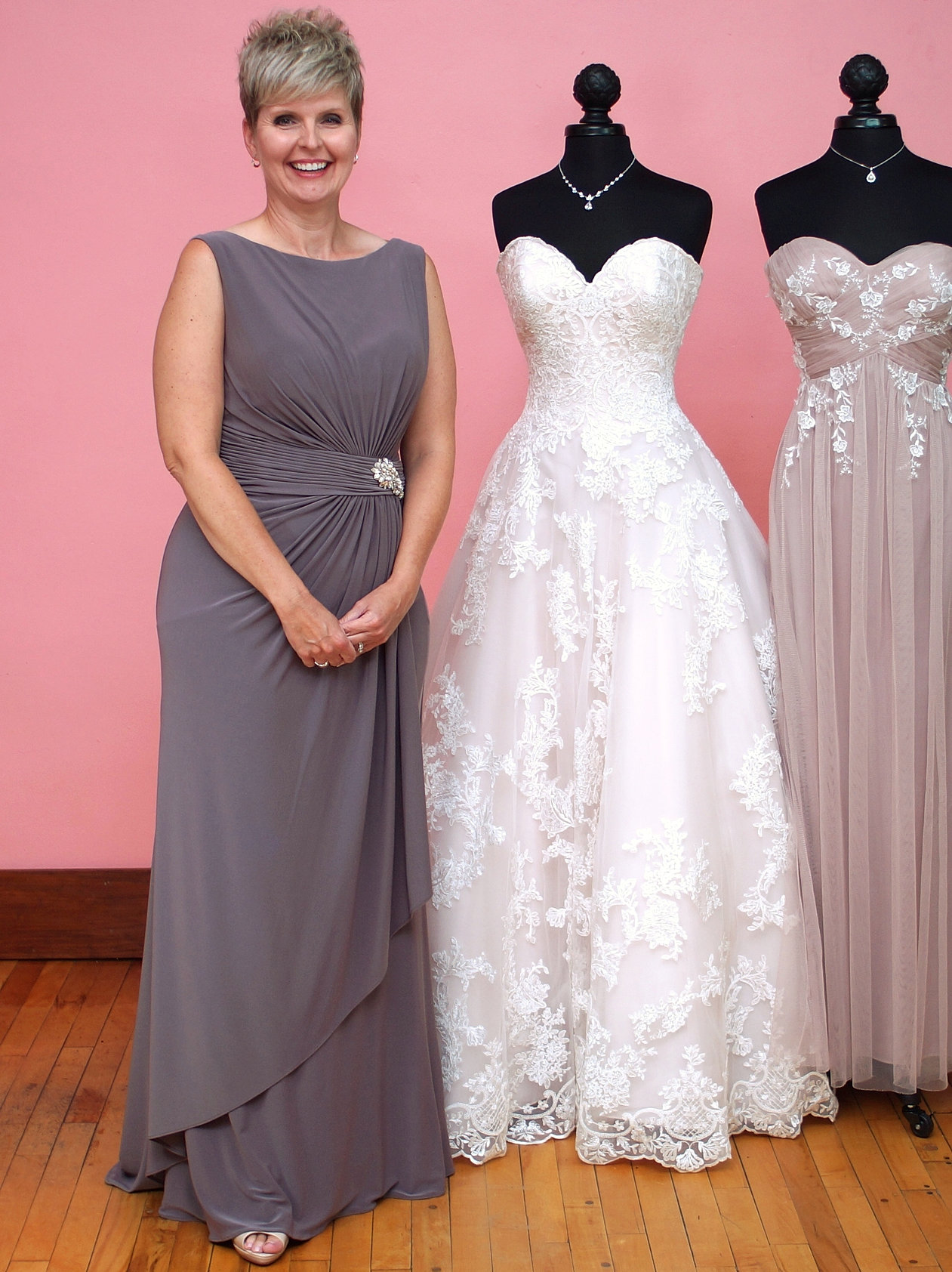 Dresses for your bridesmaids and your mom at premiere couture kelli in cameron blake ombrellifo Images