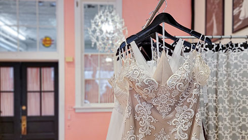 Your wedding dress is ready for you