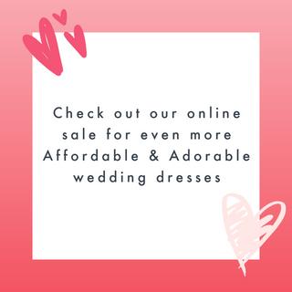 Visit our online sale