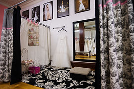 Photo of Premiere Couture fitting room by Front Room Photography Milwaukee