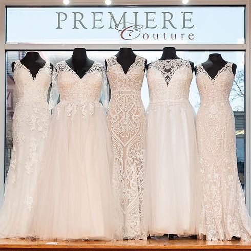 Window of Catherine Rose Wedding Dresses