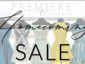 Ultimate Homecoming Dress Sale