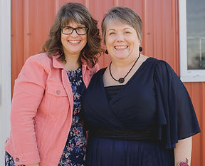 Rosemary and Laura at Leif's wedding by