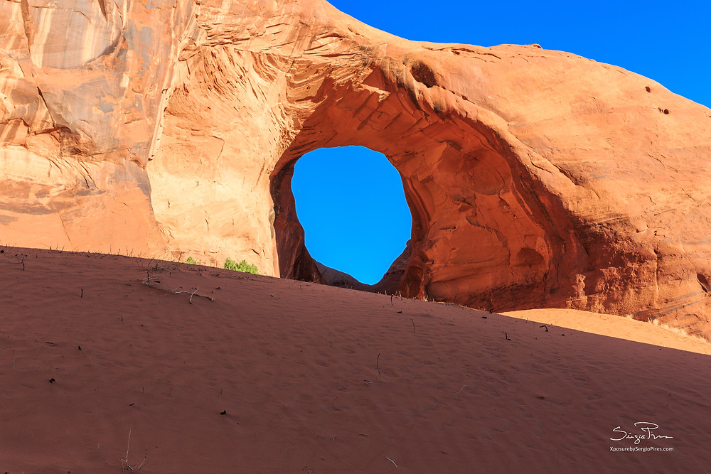 The ear of the wind arch