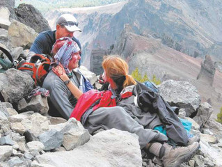 Injuries and afflictions on the trail