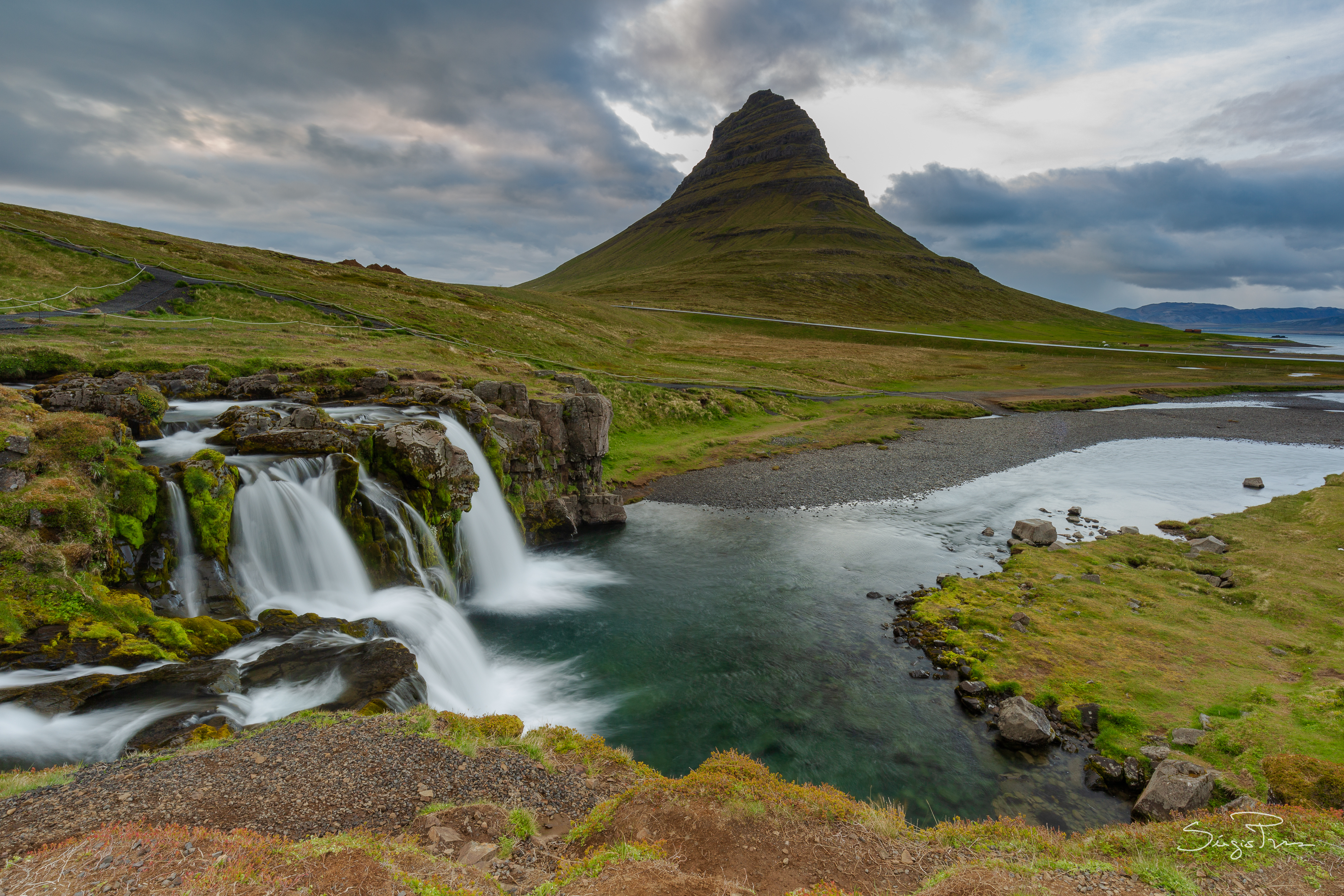 "Kirkjufell, or ""Church Mountain"""