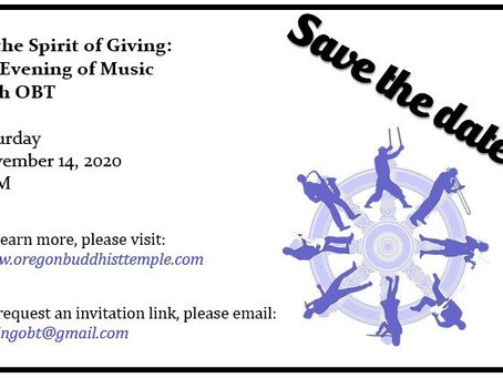 In the Spirit of Giving: An Evening of Music with OBT