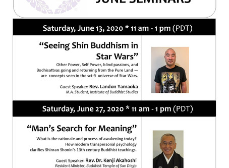 BCA Seminars and Virtual Obon
