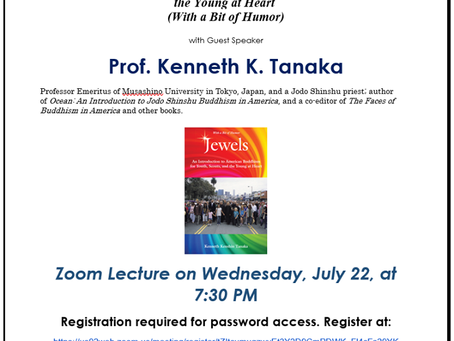 Zoom Lecture by Prof.Ken Tanaka