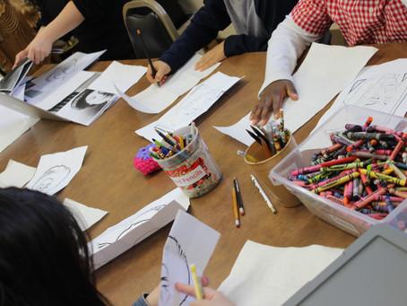 Art is happening ! at Dharma School.