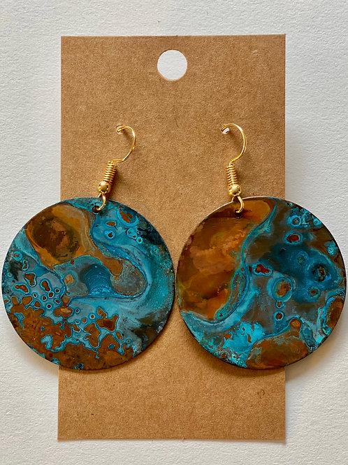 Patina Earrings